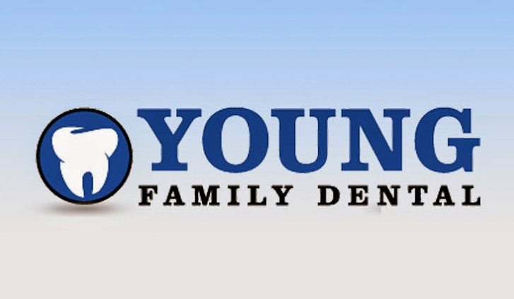 Logo for Young Family Dental in a business spotlight for Dr. Chris Young.