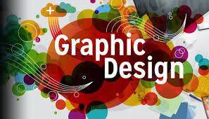 Colorful image of graphic design